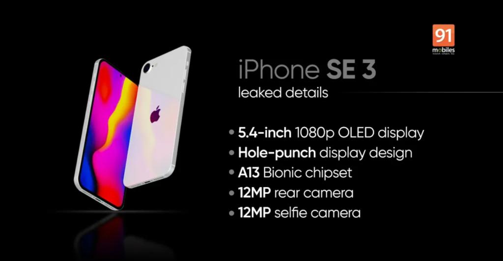 concept iphone SE 3 2022