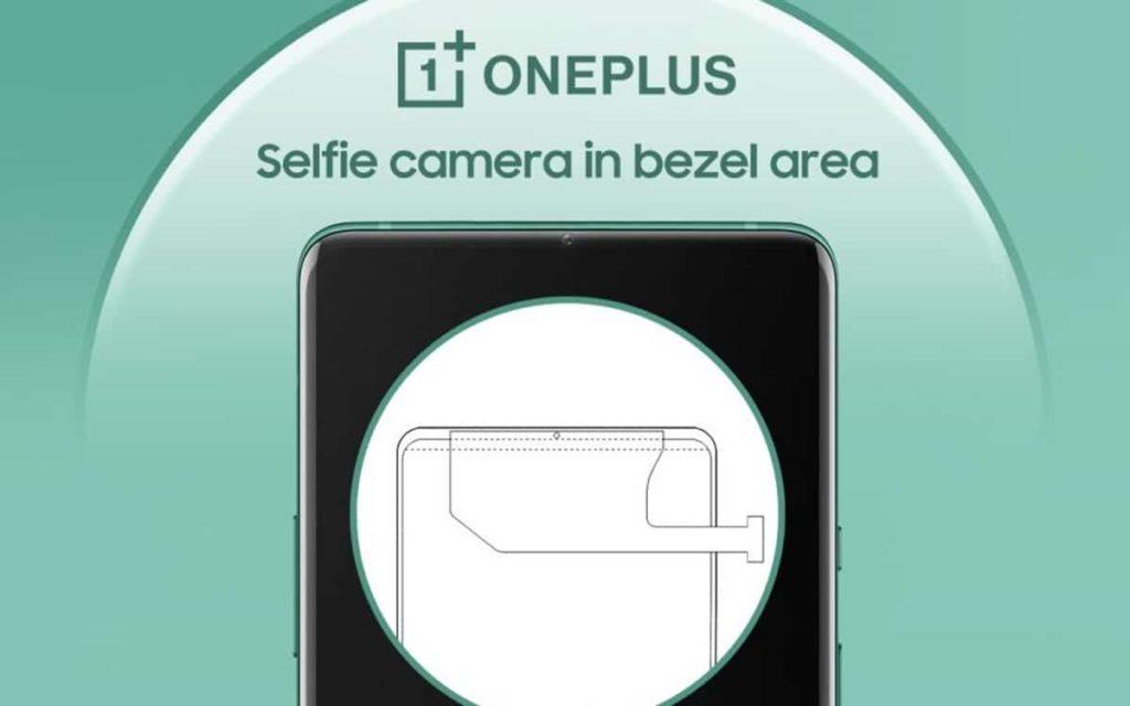 OnePlus caméra selfie bordure smartphone