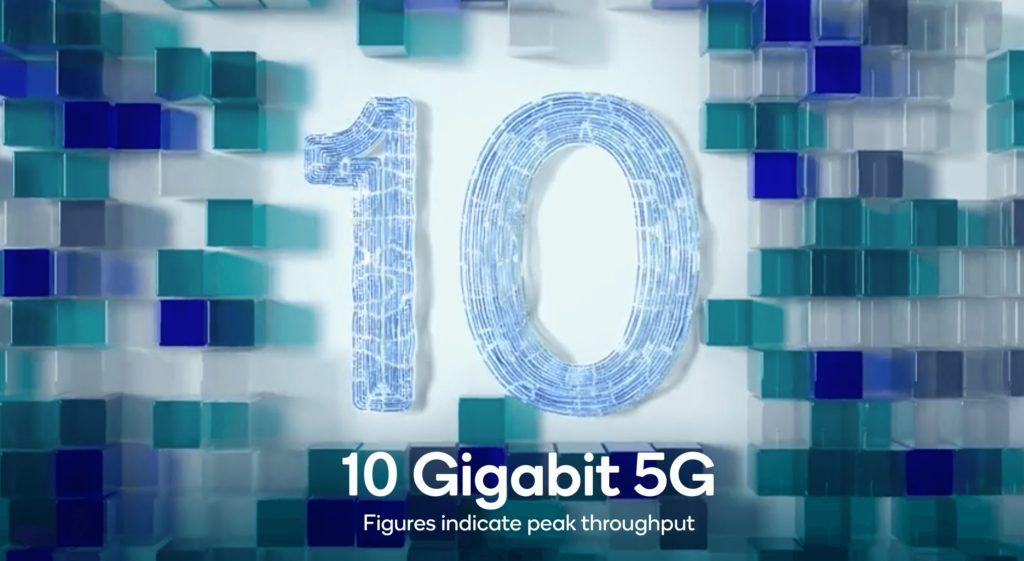 snapdragon X65 10 Gbit/s 5G