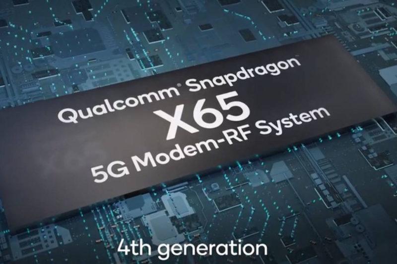 snapdragon X65 qualcomm