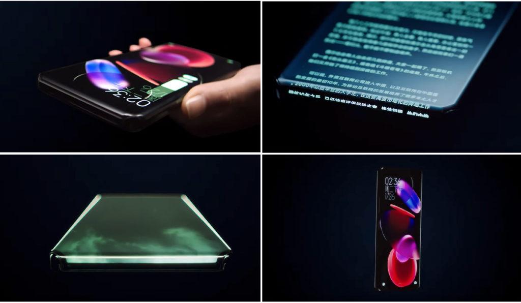 Concept phone imaginé par Xiaomi