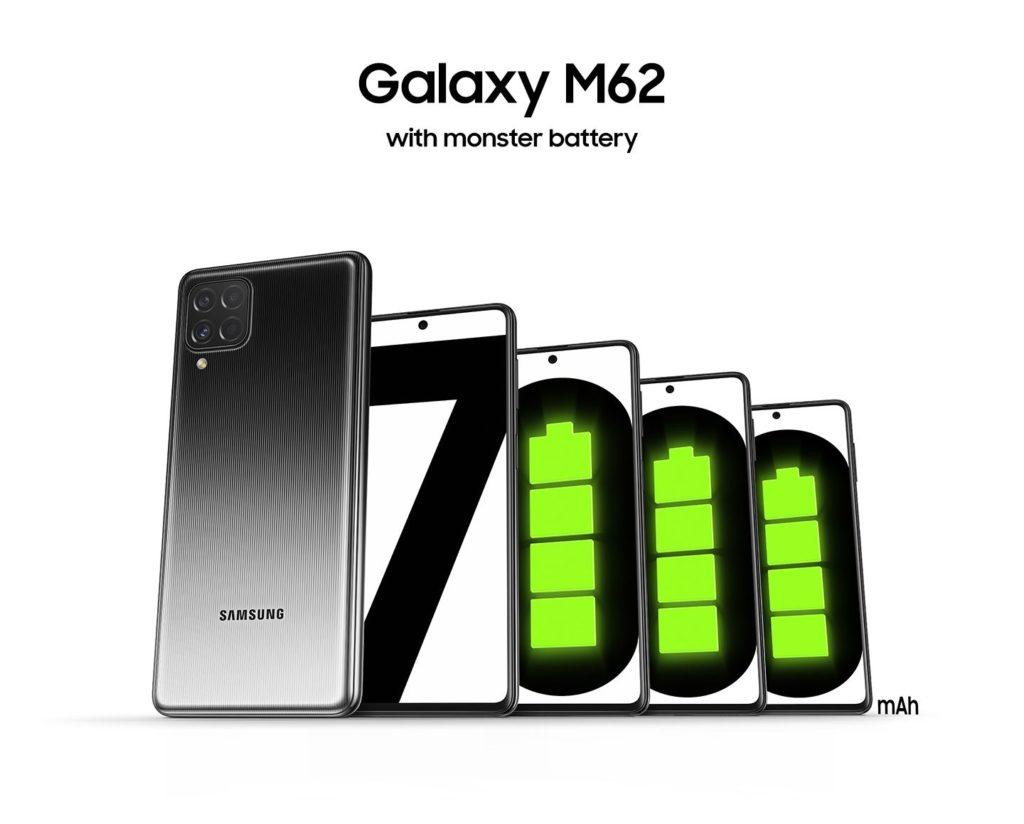 batterie Galaxy M62