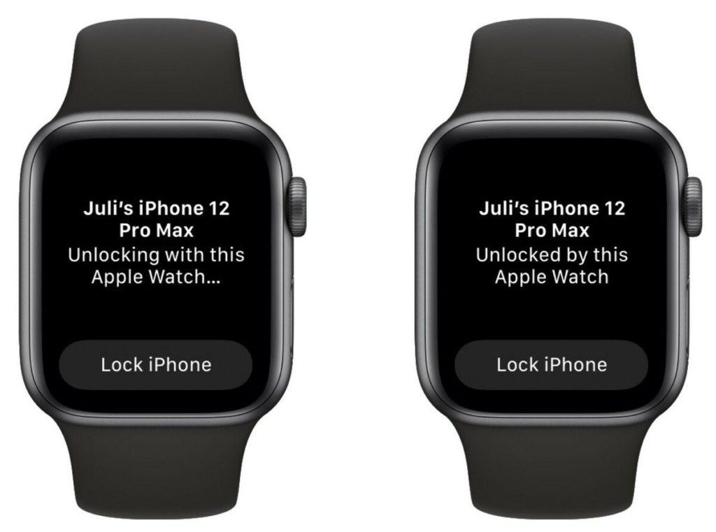 apple watch déverrouillage