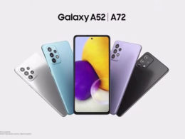 galaxy A52 A72 officiels