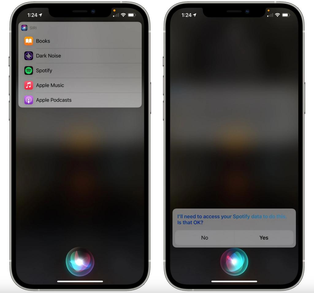 app musique Siri iOS 14.5