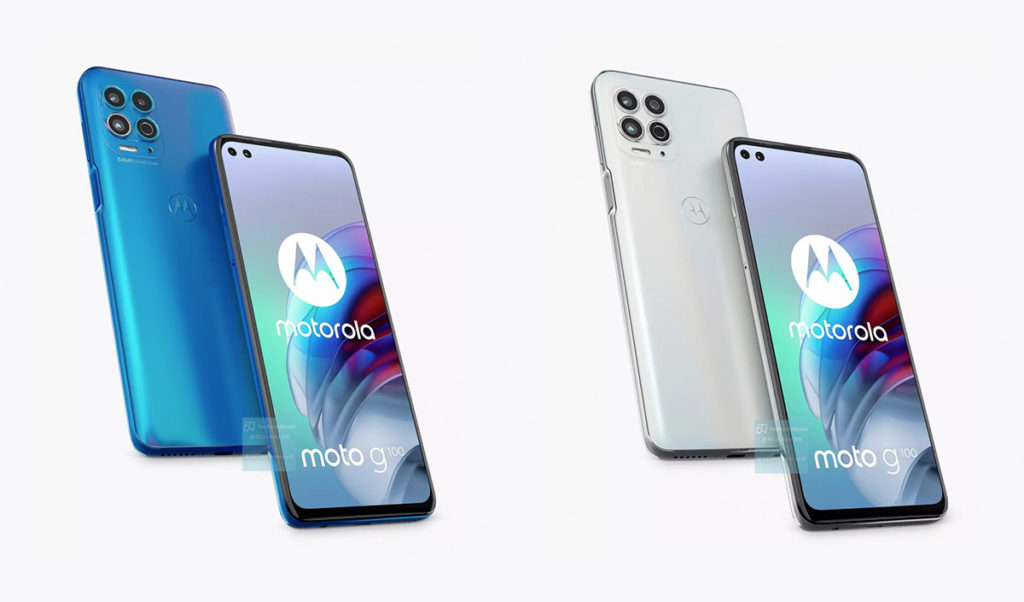 coloris attendus Motorola G100