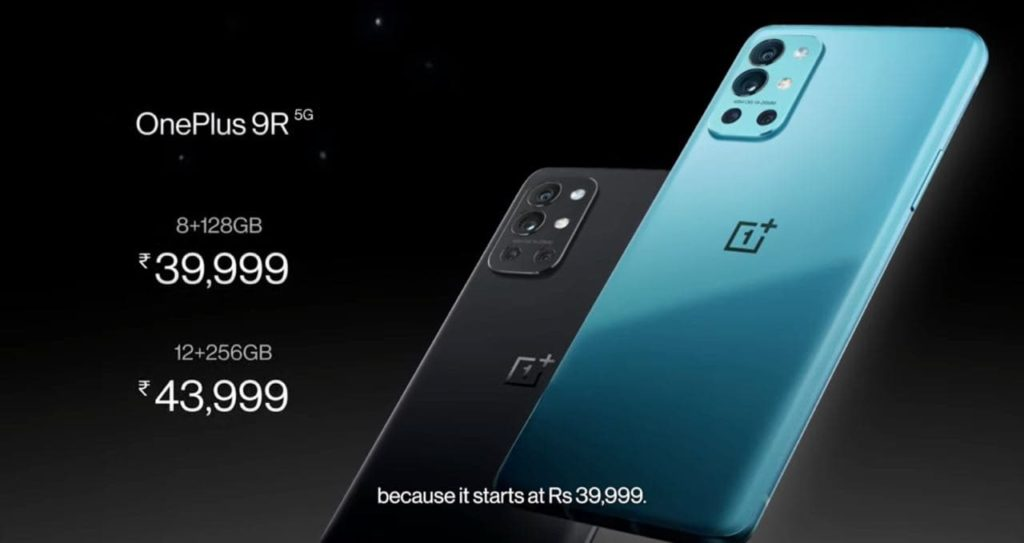 oneplus 9R prix