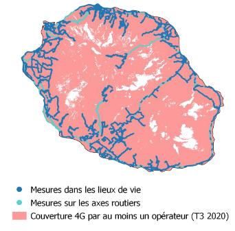 Qualité de service mobile Réunion