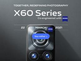 vivo X60 22 mars