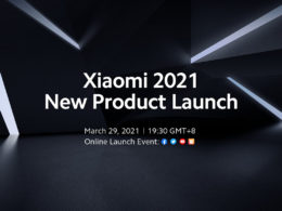 xiaomi événement 29 mars