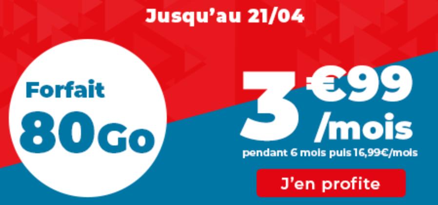 forfait 80 Go auchan télécom