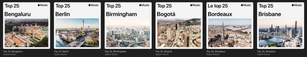 playlist villes apple music