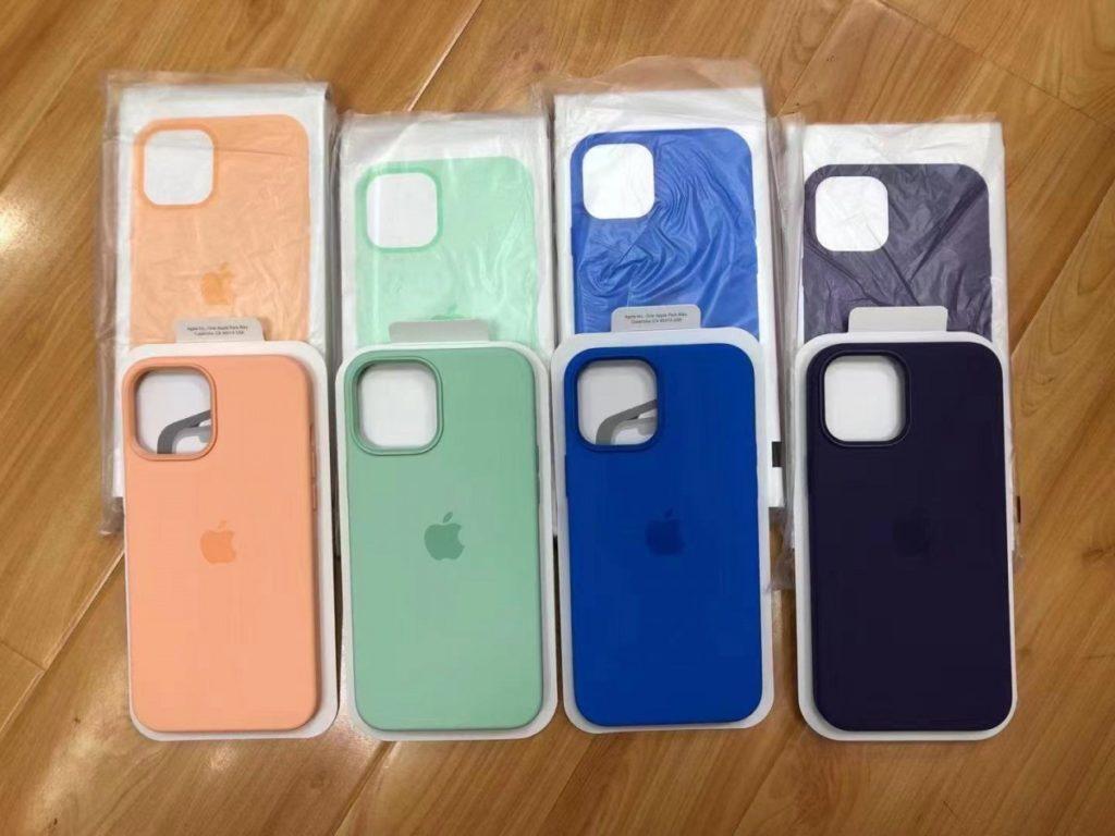 iphone 12 coques magsafe couleurs printemps