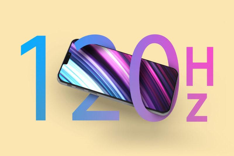 iphone 13 pro 120 Hz