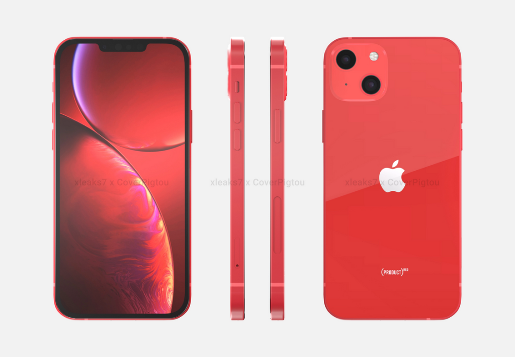 iPhone 13 Product Red Pigtou