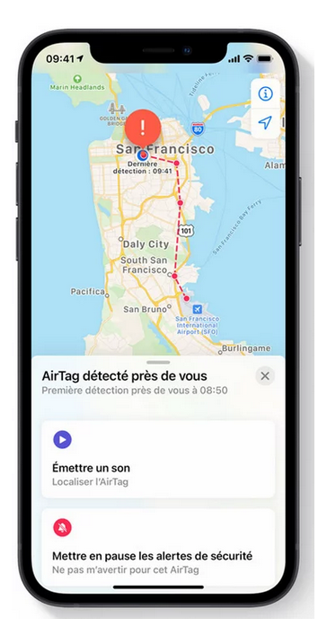 airtags iphone