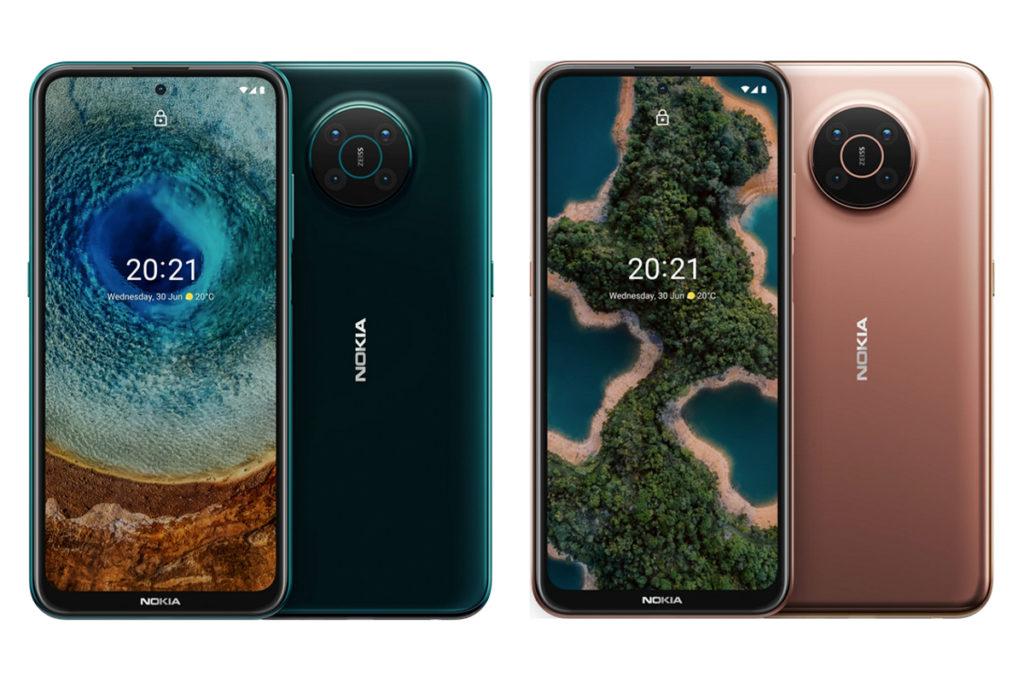 Nokia X10 et Nokia X20