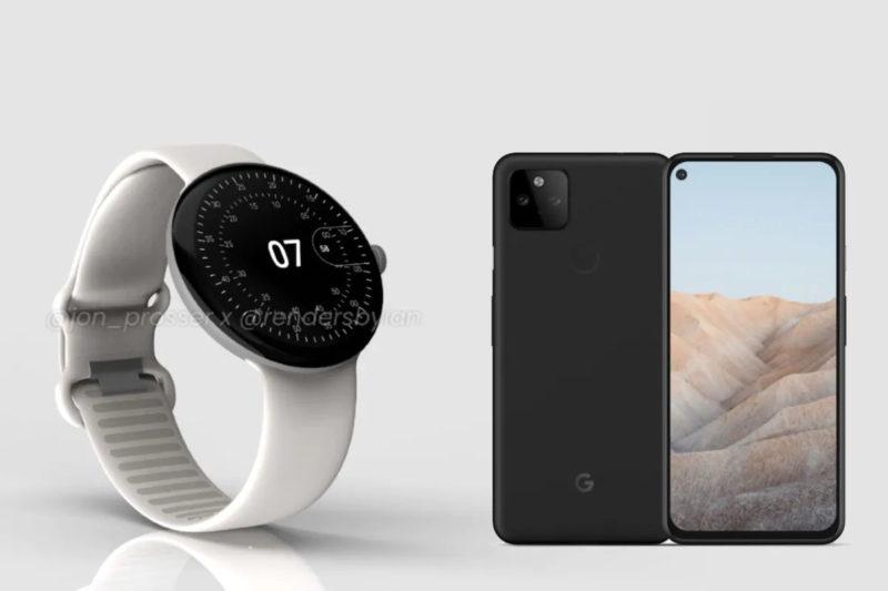 pixel 5a pixel watch google