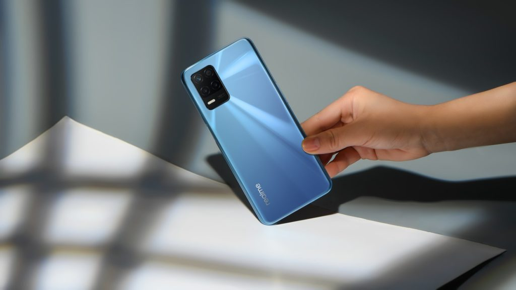 realme 8 5G bleu