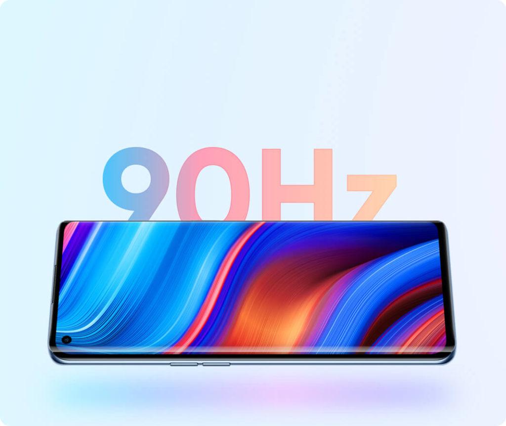 realme X7 pro ultra écran