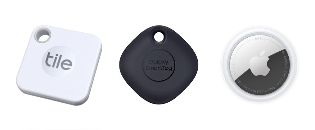 trackers Tile Samsung Apple