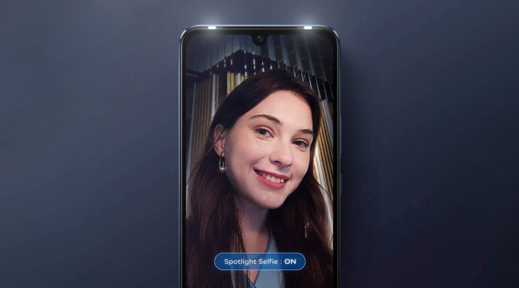 vivo V21 caméra selfie