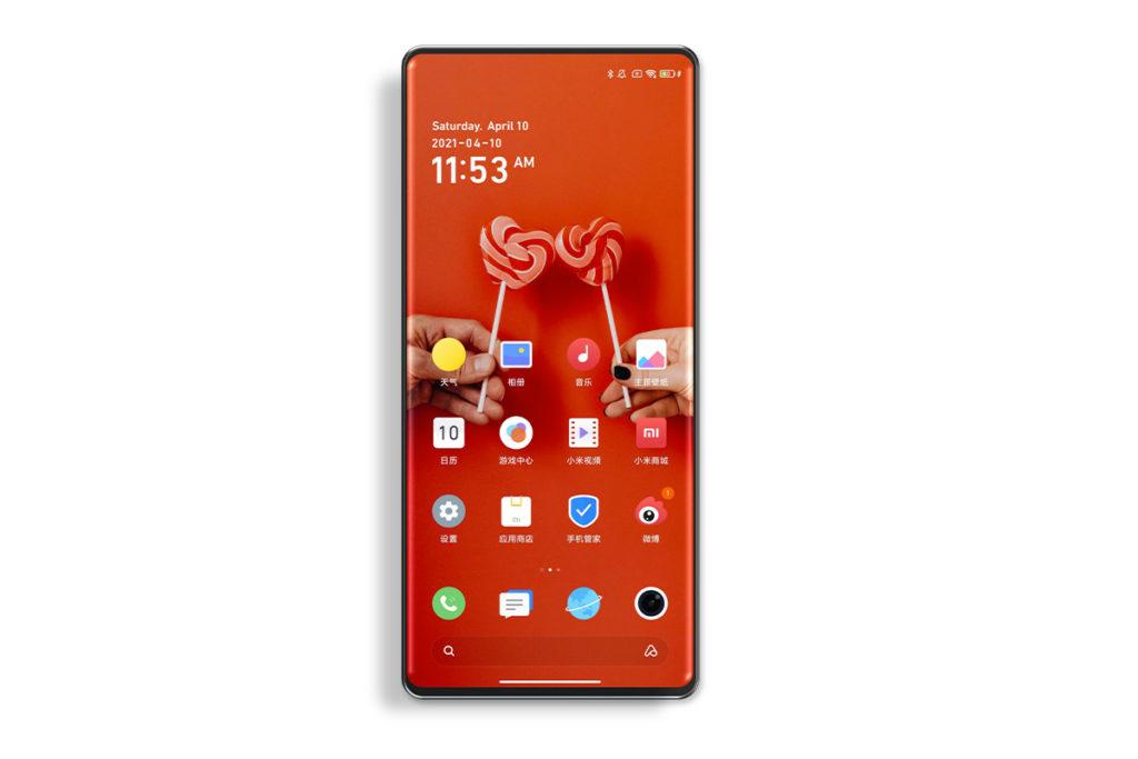 Xiaomi Mi Mix 4 rendu
