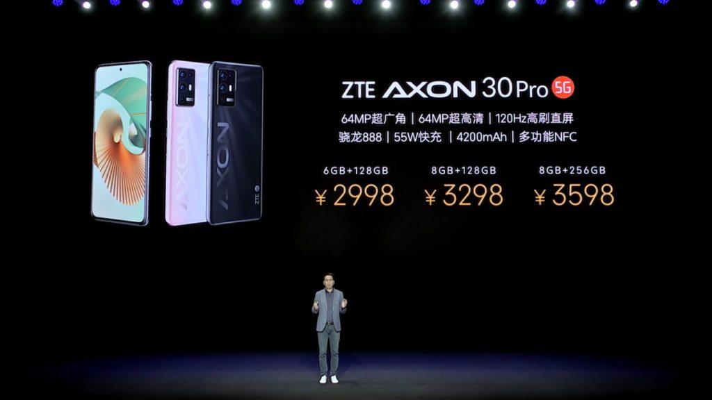 axon 30 pro zte