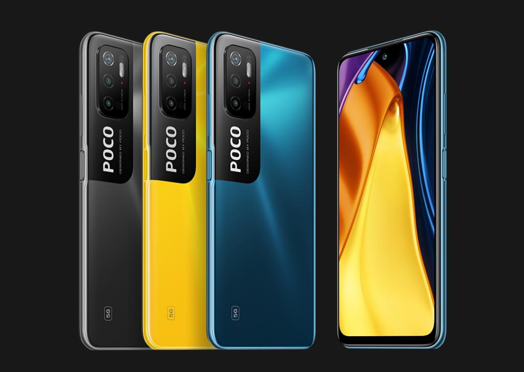 Poco M3 Pro 5G coloris