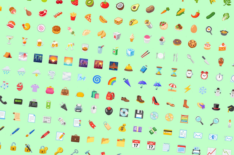 android 12 nouveaux emojis