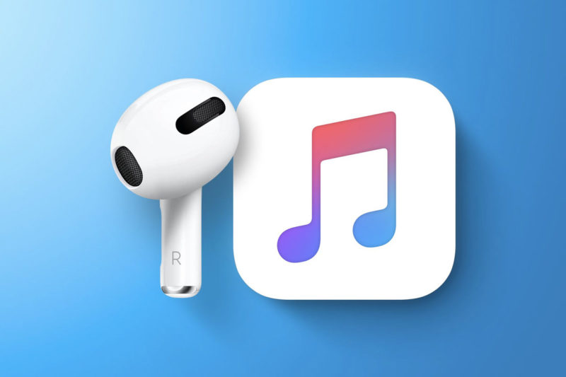 apple music airpods 3