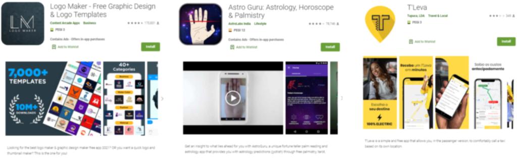 applications android bases de données en temps réel