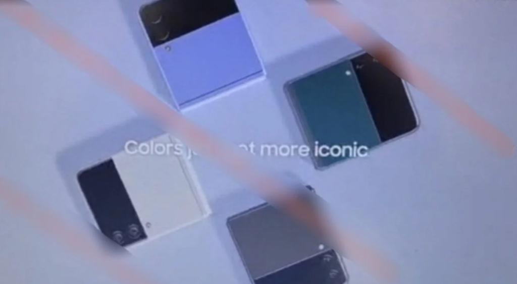 design Galaxy Z Flip 3