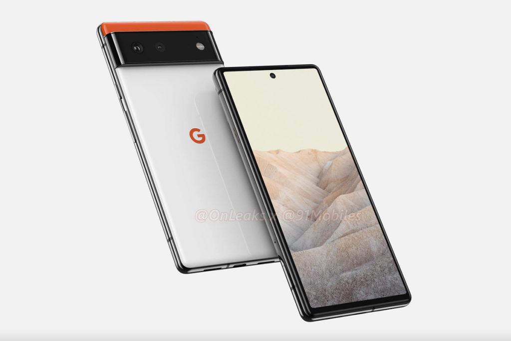 Google Pixel 6 Rendu