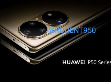 huawei P50 module photo leak