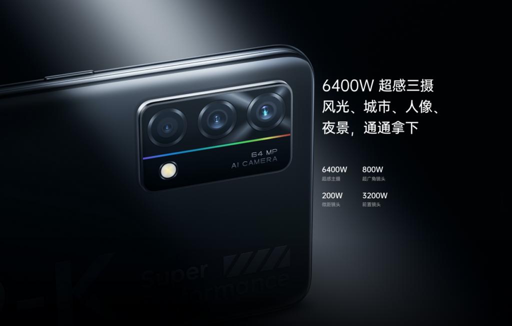 caméra arrière Oppo K9 5G