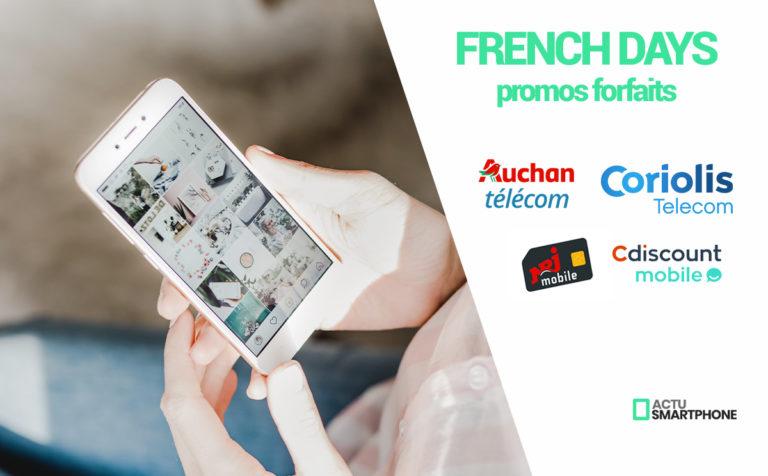 promo forfait mobile french days