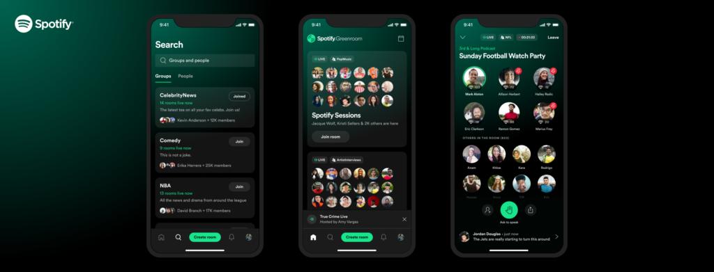 Greenroom sur Spotify