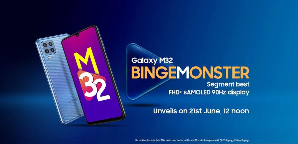 Galaxy M32 Amazon
