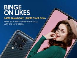 Galaxy M32 Amazon Design
