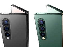 Galaxy Z Fold 3 rendu