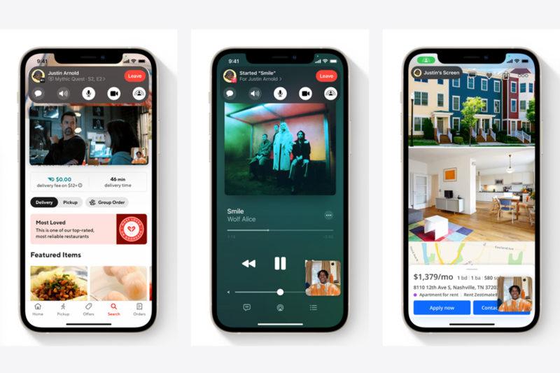 apple facetime iOS 15