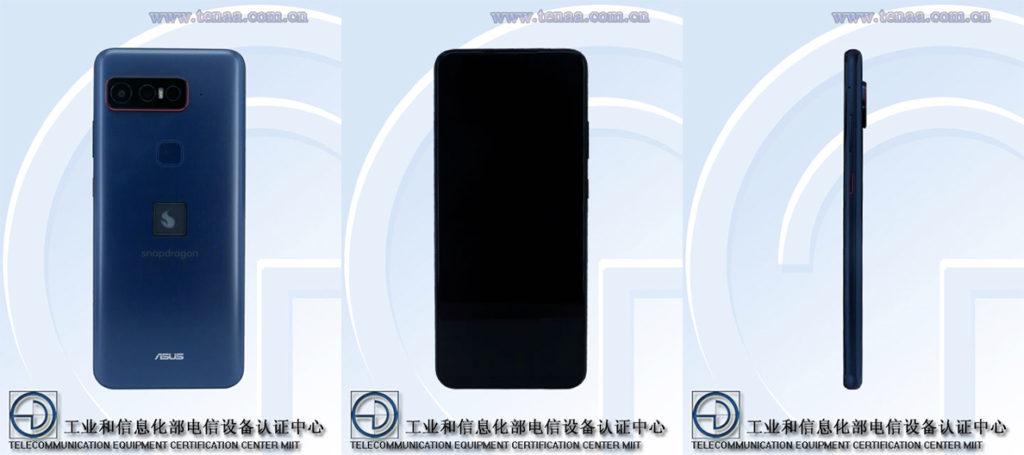 smartphone Asus certifié TENAA