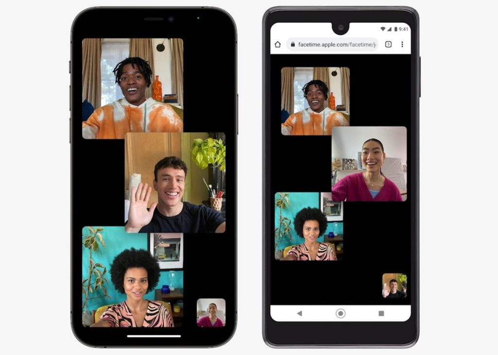 facetime ios 15 android