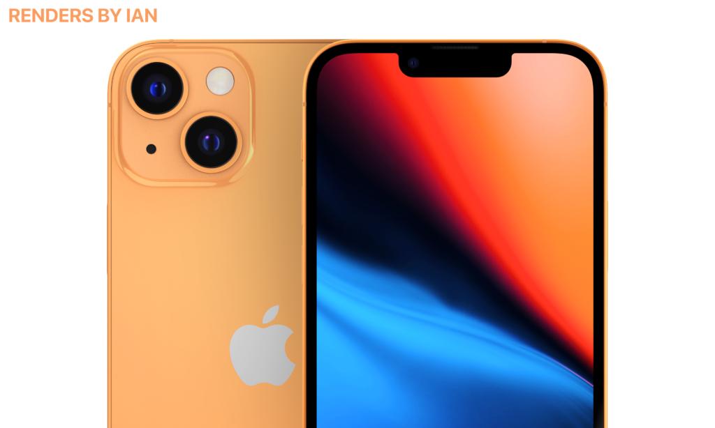 iphone 13 orange apple