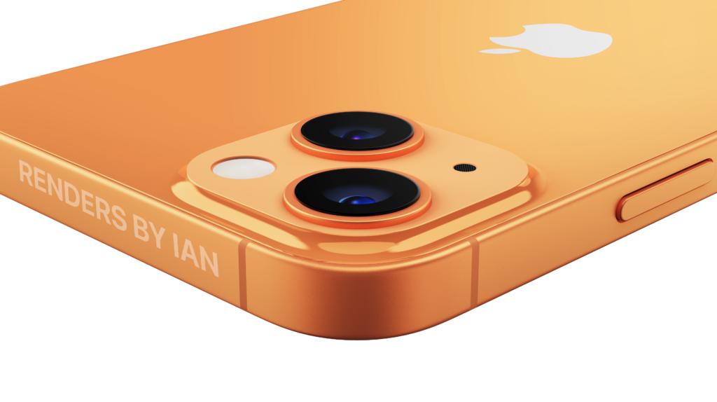 iphone 13 apple orange