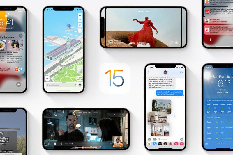 nouveautés iOS15 apple