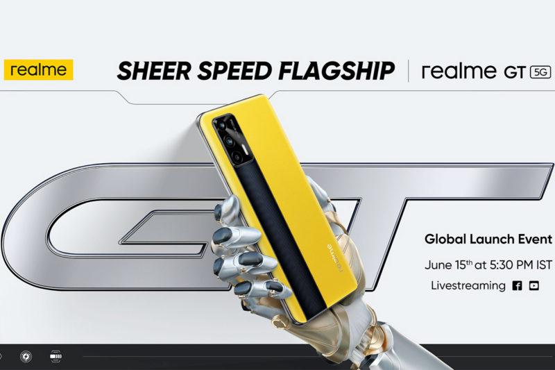 Realme GT 5G lancement