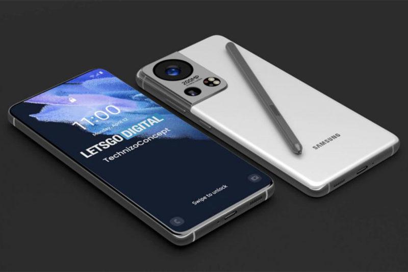 Rendu du Samsung Galaxy S22 par Let's Go Digital