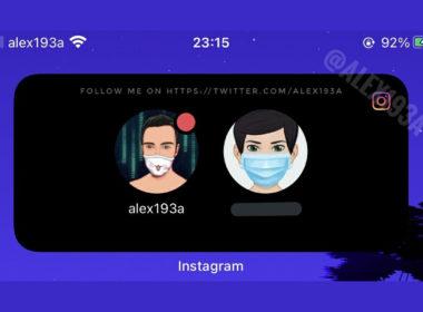 instagram nouveau widget ios
